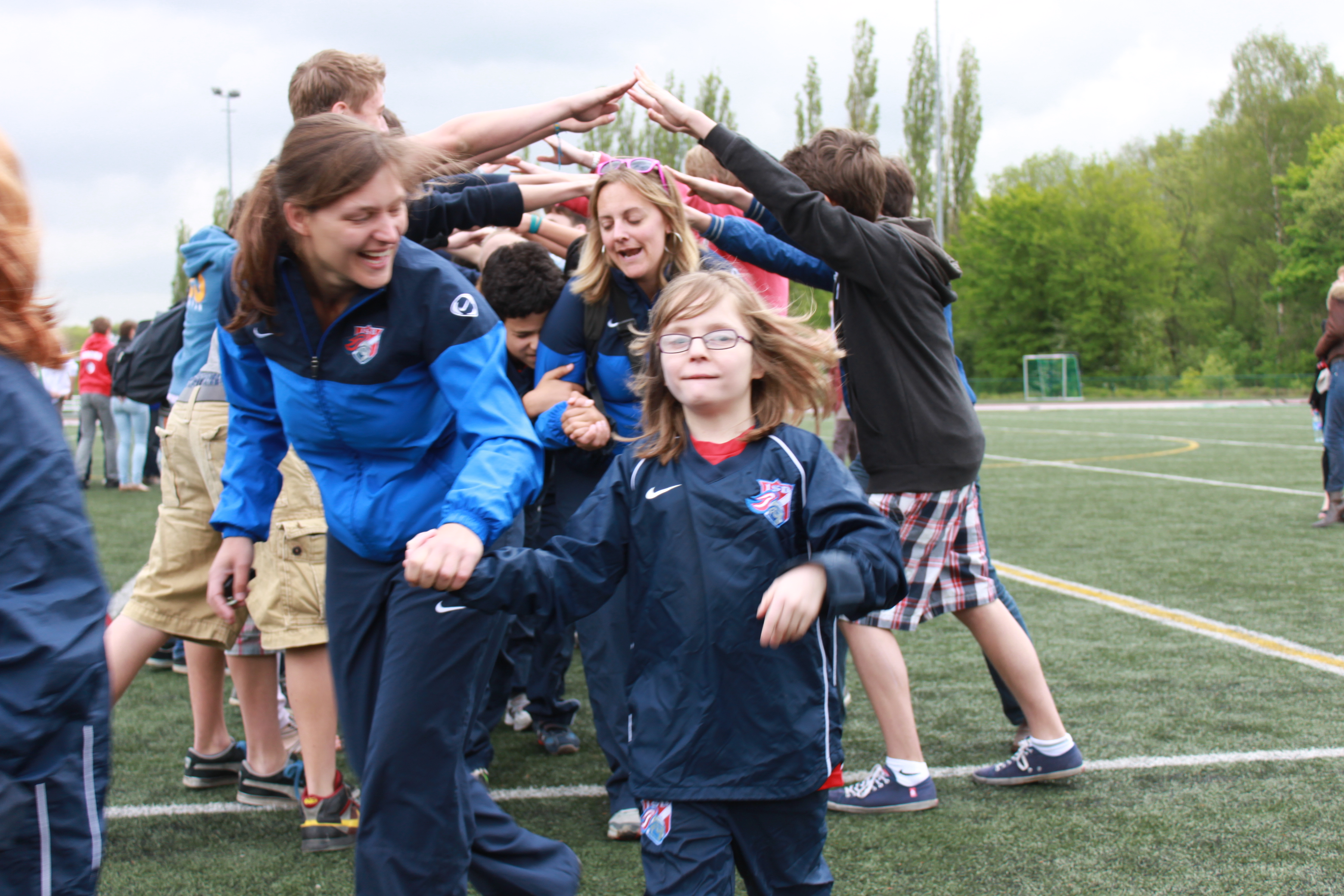 The Special Olympics event at the International School of Brussels